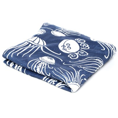 DENY Designs Jennifer Denty Jellyfish Polyester Fleece Throw Blanket