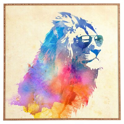 DENY Designs Sunny Leo by Robert Farkas Graphic Art on Canvas