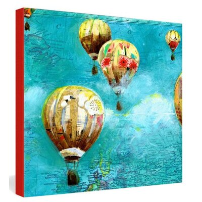 DENY Designs Herd of Balloons 2 by Land of Lulu Graphic Art on Canvas