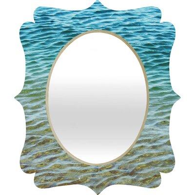 DENY Designs Shannon Clark Ombre Sea Quatrefoil Mirror