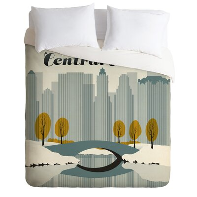 DENY Designs Anderson Design Group Central Park Snow Duvet Cover Collection