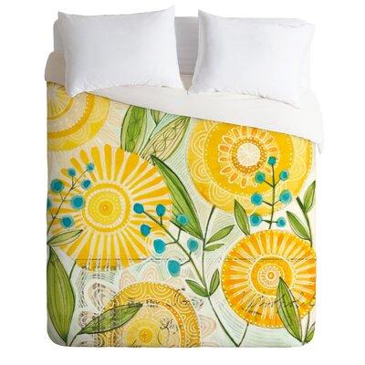 DENY Designs Cori Dantini Sun Burst Flowers Duvet Cover Collection