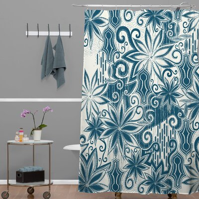 DENY Designs Khristian A Howell Woven Polyester Moroccan Mirage 1 Shower Curtain