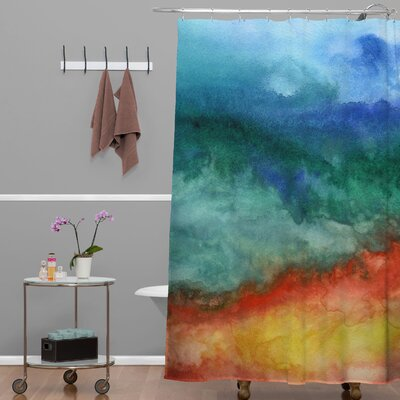 DENY Designs Jacqueline Maldonado Woven Polyester Leaving California Shower Curtain