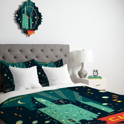 DENY Designs Anderson Design Group Chicago Mag Mile Duvet Cover Collection