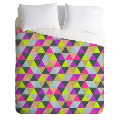 DENY Designs Bianca Green Ocean of Pyramid Duvet Cover Collection