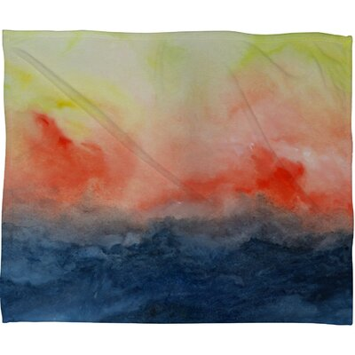 DENY Designs Jacqueline Maldonado Brushfire Fleece Throw Blanket