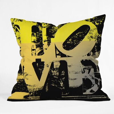 DENY Designs Amy Smith Philadelphia Love Throw Pillow