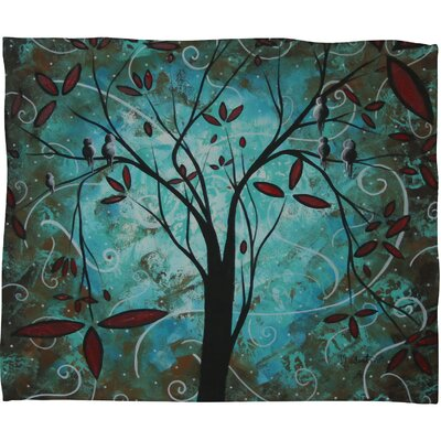 DENY Designs Madart Inc. Romantic Evening Polyester Fleece Throw Blanket