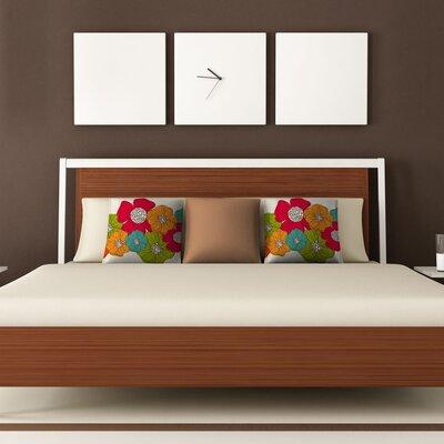 DENY Designs Valentina Ramos Flowers Polyester Throw Pillow