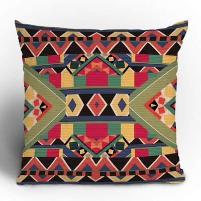 DENY Designs Bianca Green Bold Woven Polyester Throw Pillow