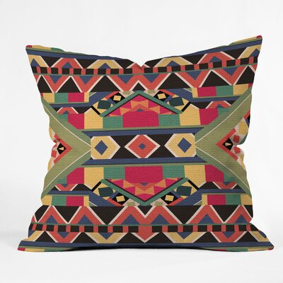 DENY Designs Bianca Green Bold Indoor/Outdoor Polyester Throw Pillow