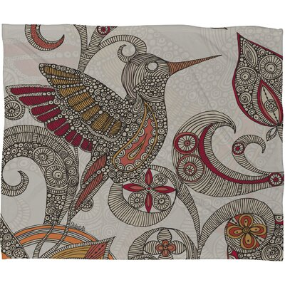 DENY Designs Valentina Ramos Flying Fleece Throw Blanket