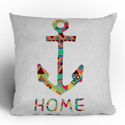 DENY Designs Bianca Green You Make Me Home Woven Polyester Throw Pillow
