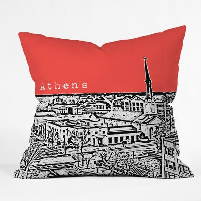 DENY Designs Bird Ave Athens Woven Polyester Throw Pillow