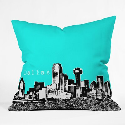 DENY Designs Bird Ave Dallas Indoor/Outdoor Polyester Throw Pillow