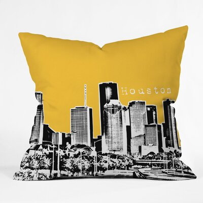 DENY Designs Bird Ave Houston Woven Polyester Throw Pillow