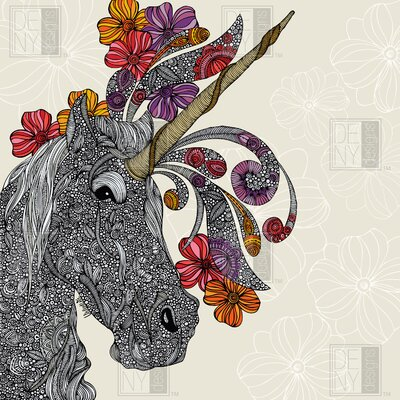 DENY Designs Valentina Ramos Unicornucopia Shower Curtain
