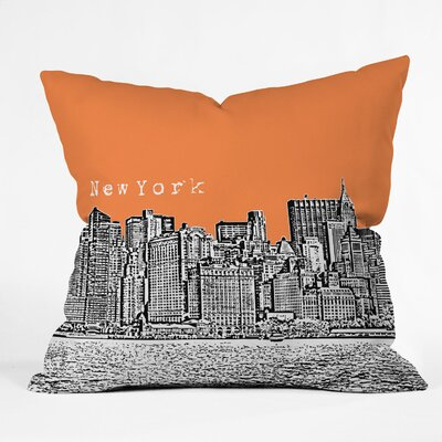 Bird Ave New York Woven Polyester Throw Pillow
