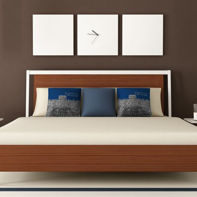 DENY Designs Bird Ave University of Michigan Woven Polyester Throw Pillow