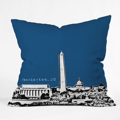 DENY Designs Bird Ave Washington Woven Polyester Throw Pillow