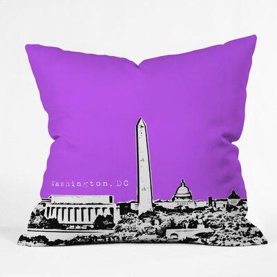 DENY Designs Bird Ave Washington Woven Polyester Throw Pillow