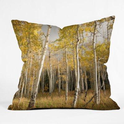 DENY Designs Bird Wanna Whistle Aspen Indoor/Outdoor Polyester Throw Pillow
