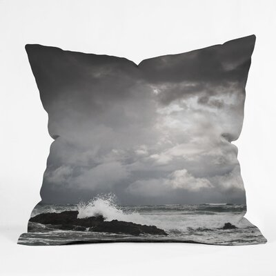 Bird Wanna Whistle Water Indoor/Outdoor Polyester Throw Pillow