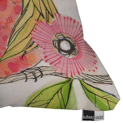 DENY Designs Cori Dantini Miss Goldie Indoor / Outdoor Polyester Throw Pillow