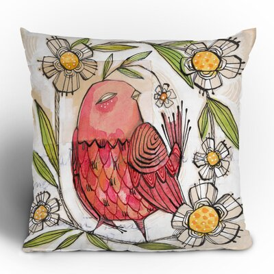 DENY Designs Cori Dantini Not a Turkey Woven Polyester Throw Pillow