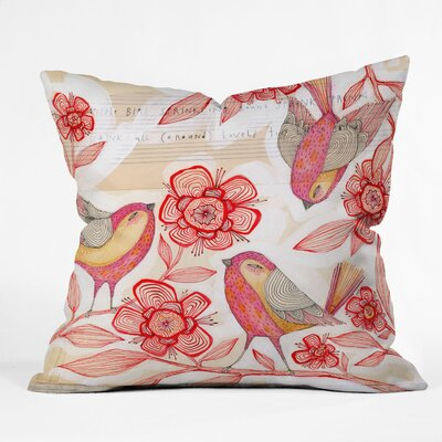 DENY Designs Cori Dantini Sprinkling Sound Woven Polyester Throw Pillow
