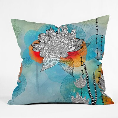 Iveta Abolina Coral Indoor / Outdoor Polyester Throw Pillow