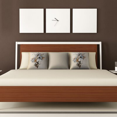 DENY Designs Iveta Abolina Floral 1 Woven Polyester Throw Pillow