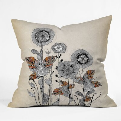 DENY Designs Iveta Abolina Floral 3 Woven Polyester Throw Pillow