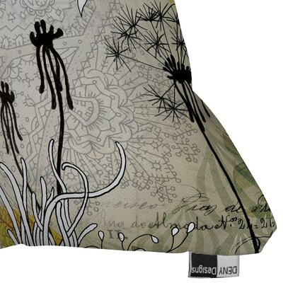 DENY Designs Iveta Abolina Little Dandelion Indoor / Outdoor Polyester Throw Pillow
