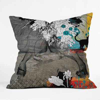 Iveta Abolina Stay Awhile Indoor / Outdoor Polyester Throw Pillow