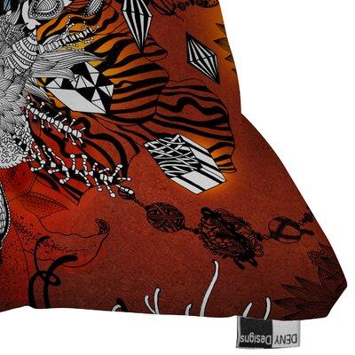 DENY Designs Iveta Abolina Wild Lilly Woven Polyester Throw Pillow