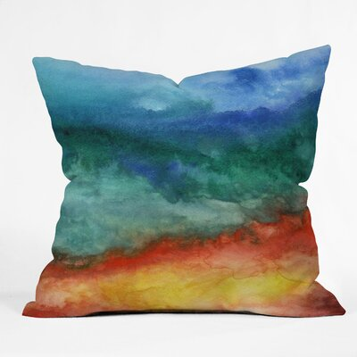 DENY Designs Jacqueline Maldonado Leaving California Polyester Throw Pillow