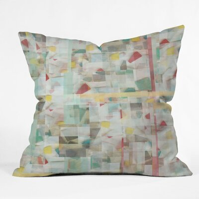 DENY Designs Jacqueline Maldonado Mosaic Indoor / Outdoor Polyester Throw Pillow