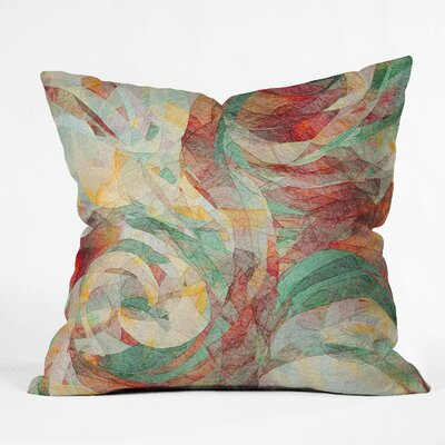 DENY Designs Jacqueline Maldonado Rapt Indoor / Outdoor Polyester Throw Pillow