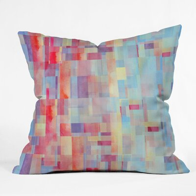 DENY Designs Jacqueline Maldonado Shapeshifter Indoor / Outdoor Polyester Throw Pillow