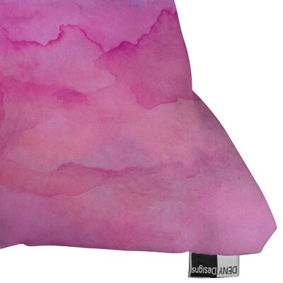 DENY Designs Jacqueline Maldonado Tidal Color Indoor / Outdoor Polyester Throw Pillow