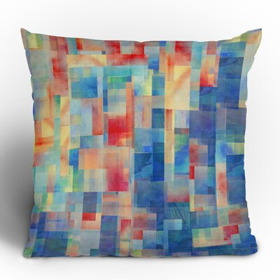 DENY Designs Jacqueline Maldonado Torrentremix Polyester Throw Pillow