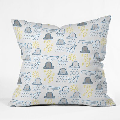 DENY Designs Jennifer Denty Clouds Polyester Throw Pillow