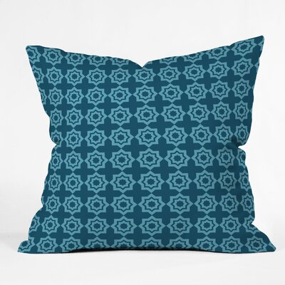 DENY Designs Khristian A Howell Moroccan Mirage Indoor / Outdoor Polyester Throw Pillow