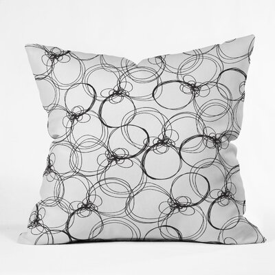 DENY Designs Rachael Taylor Polyester Circles Indoor/Outdoor Throw Pillow