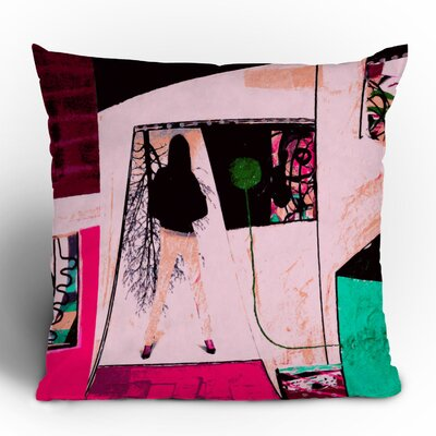 DENY Designs Randi Antonsen City 2 Woven Polyester Throw Pillow