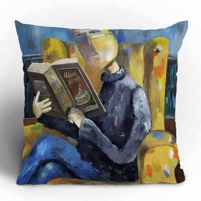 DENY Designs Robin Faye Gates at The End of The Fork Polyester Throw Pillow