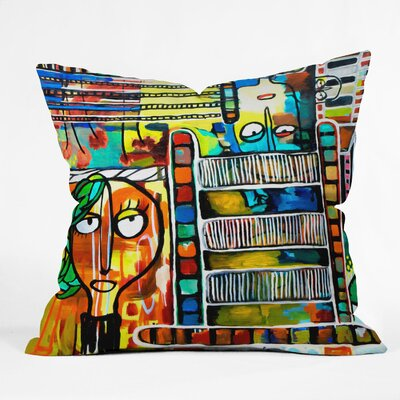 DENY Designs Robin Faye Gates Polyester Musical Chairs Indoor / Outdoor Throw Pillow