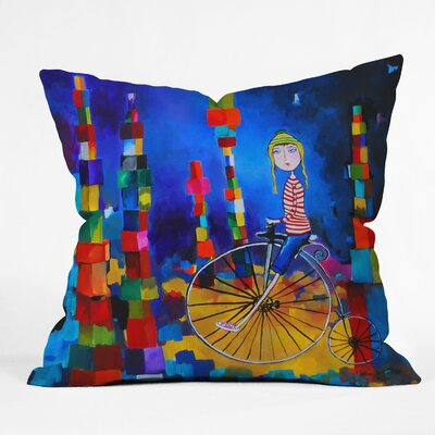 DENY Designs Robin Faye Gates Polyester Out of Bounds Indoor / Outdoor Throw Pillow